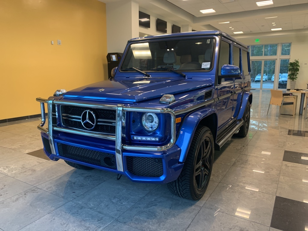 Pre-Owned 2018 Mercedes-Benz G-Class G 63 AMG®